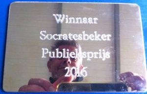 Socratesbeker publieksprijs 2016