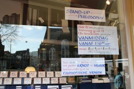 Stand-up filosofie bij Athenaeum